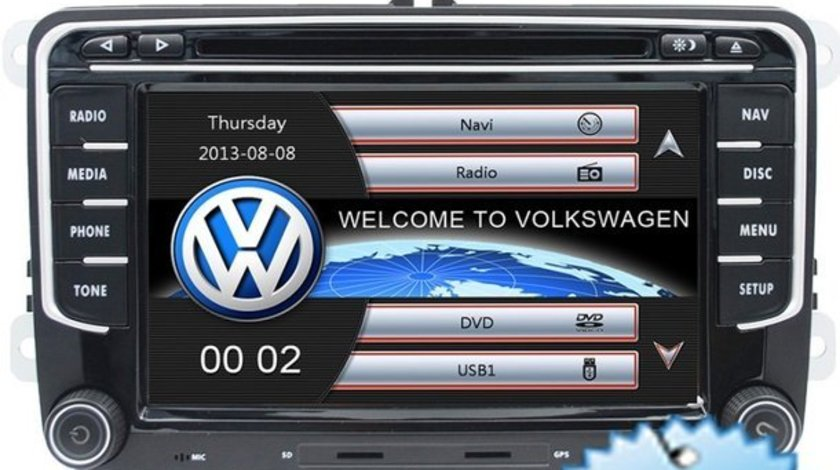 Navigatie Dedicata VW Caravelle Dvd Gps Carkit Usb NAVD-723V V5