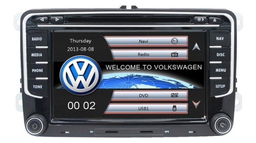 Navigatie Dedicata VW Eos Dvd Carkit Usb NAVD-723V V5 Camera Video De Marsarier Cadou!