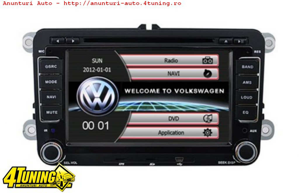 navigatie dedicata vw golf 5 dvd gps auto carkit navd 723v. Black Bedroom Furniture Sets. Home Design Ideas