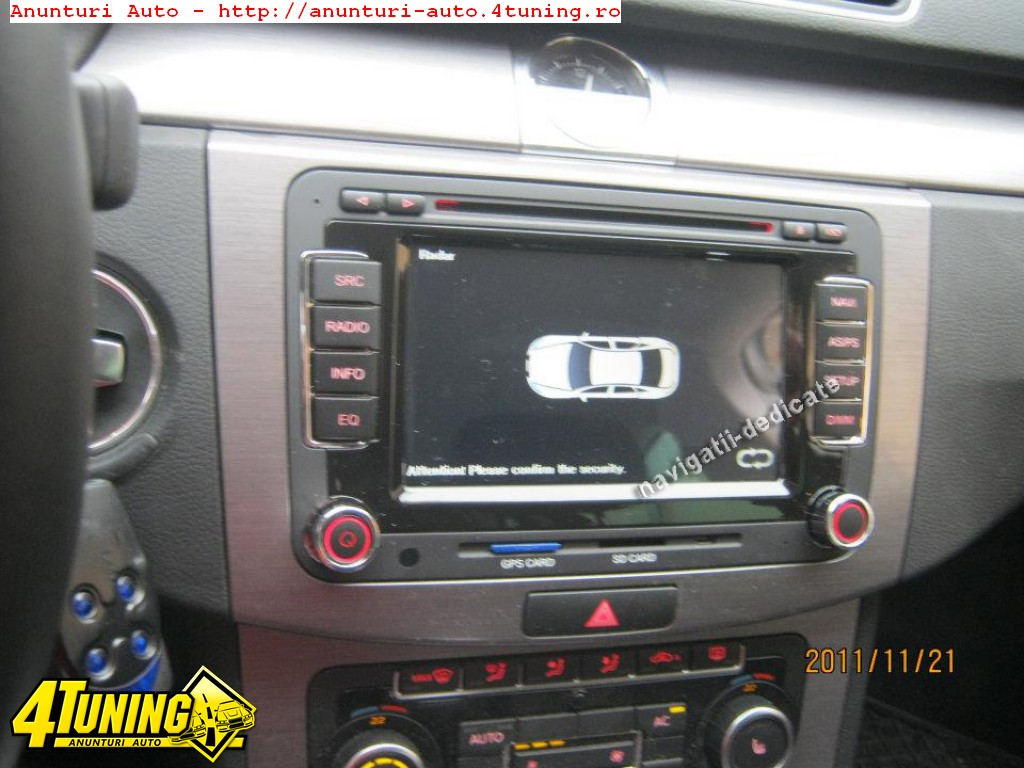 navigatie dedicata vw golf plus dvd gps carkit internet 48724. Black Bedroom Furniture Sets. Home Design Ideas
