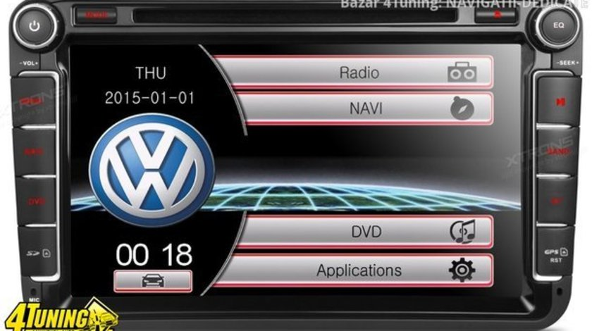 NAVIGATIE DEDICATA VW GOLF PLUS XTRONS PF81MTVS DVD PLAYER GPS TV CARKIT