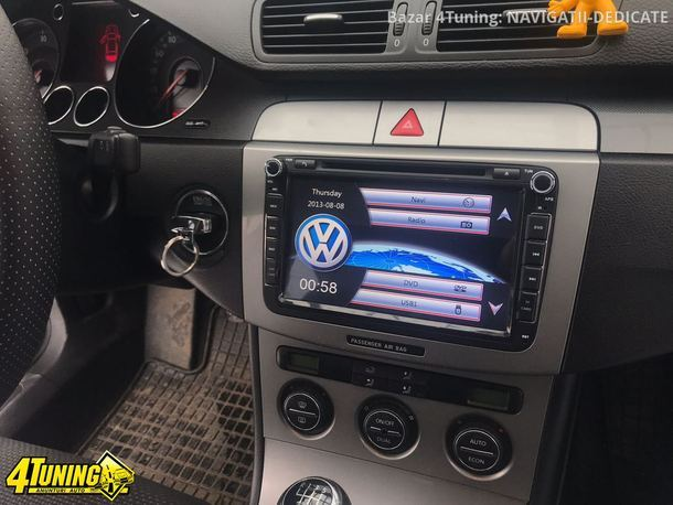 NAVIGATIE DEDICATA VW GOLF VI XTRONS PF81MTVS DVD PLAYER GPS TV CARKIT