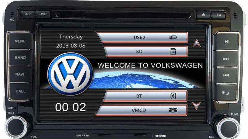 NAVIGATIE DEDICATA VW PASSAT B6 B7 CC GOLF MK5 MK6 TIGUAN TOURAN SHARAN EOS JETTA POLO CADDY SCIROCO