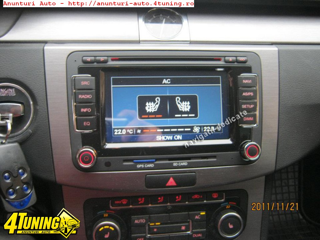 navigatie dedicata vw passat b6 dvd gps carkit internet 48747. Black Bedroom Furniture Sets. Home Design Ideas