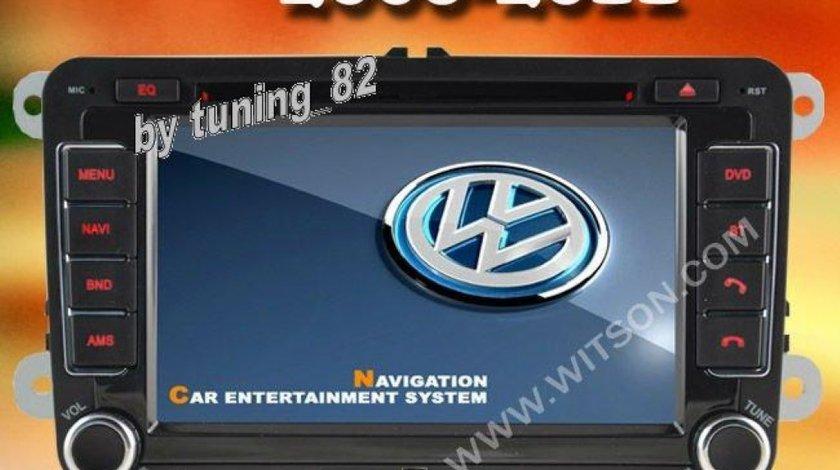 Navigatie Dedicata Vw Passat B6 MK6 WITSON W2-D8240V PLATFORMA C36 WIN8 STYLE DVD GPS DVR ECRAN 7''