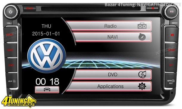 NAVIGATIE DEDICATA VW PASSAT XTRONS PF81MTVS DVD PLAYER GPS TV CARKIT