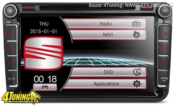NAVIGATIE DEDICATA VW POLO XTRONS PF81MTVS DVD PLAYER GPS TV CARKIT