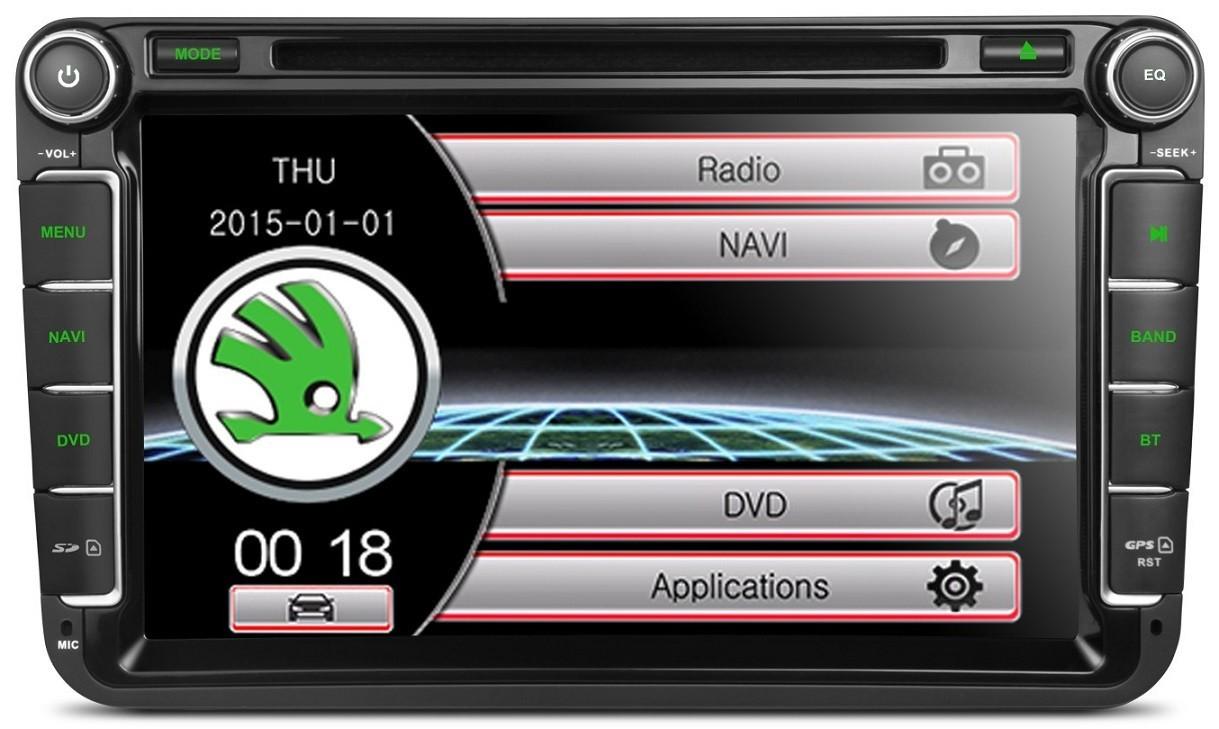 NAVIGATIE DEDICATA VW/SKODA/SEAT XTRONS PF81MTVS  DVD PLAYER GPS TV CARKIT