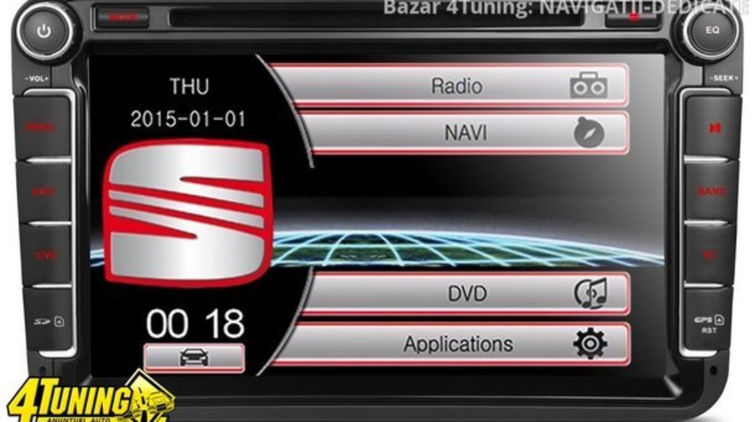NAVIGATIE DEDICATA VW T5 Transporter XTRONS PF81MTVS DVD PLAYER GPS TV CARKIT