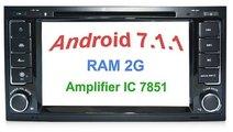 Navigatie Dedicata Vw TOUAREG Android 7.1 2GB RAM CARKIT NAVD A9200 DVD GPS WAZE INTERNET 4G