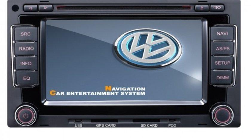 NAVIGATIE DEDICATA VW TOUAREG MULTIVAN TRANSPORTER T5 DVD GPS CARKIT TV NAVD-9200