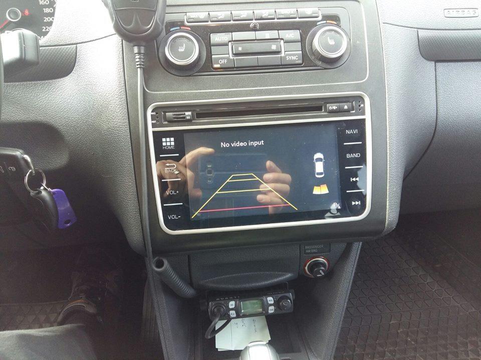 NAVIGATIE DEDICATA VW Touran 2003 MODEL WITSON W2-E8246V PLATFORMA C30 ECRAN CAPACITIV 7''