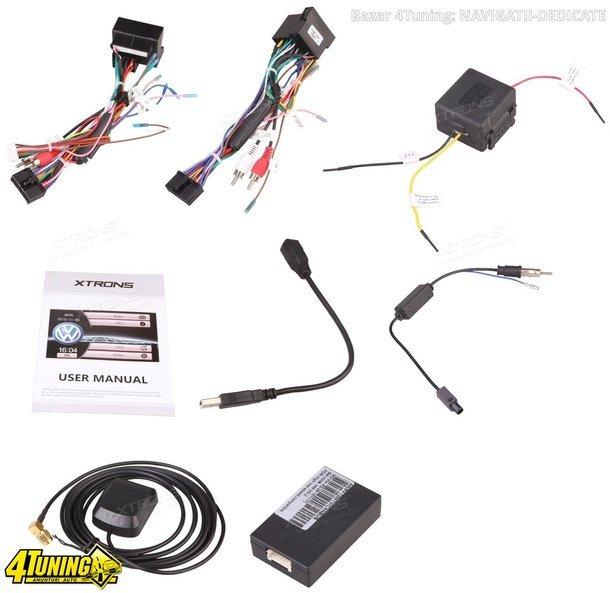 NAVIGATIE DEDICATA VW TOURAN XTRONS PF81MTVS DVD PLAYER GPS TV CARKIT