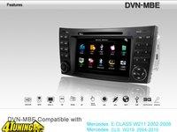 Navigatie Dynavin Dedicata Mercedes Benz E Class Dvd Gps Tv Tuner Car Kit Usb Divx