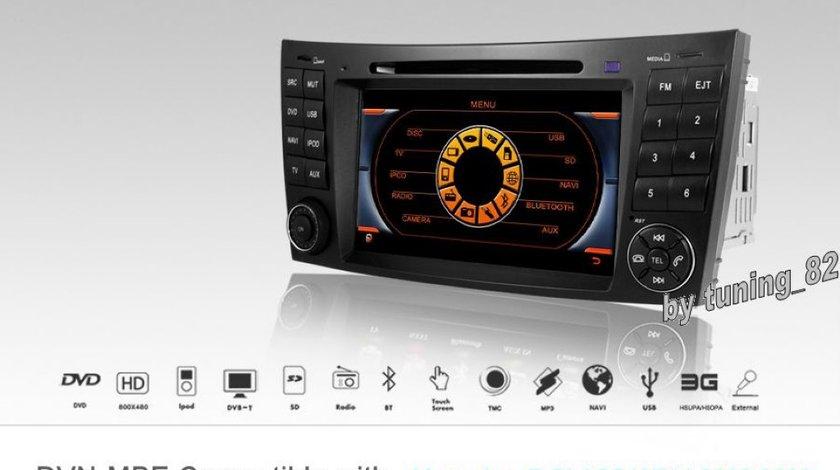 Navigatie Dynavin Dedicata Mercedes Cls W 219 Camera Cadou Gps Dvd Usb Tv Ipod Internet 3g