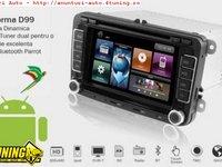 Navigatie Dynavin Dedicata Vw PASSAT CC Platforma D99 Android 2 2 Internet 3g Wi Fi Carkit Parrot Dual Radio Tuner Model Premium