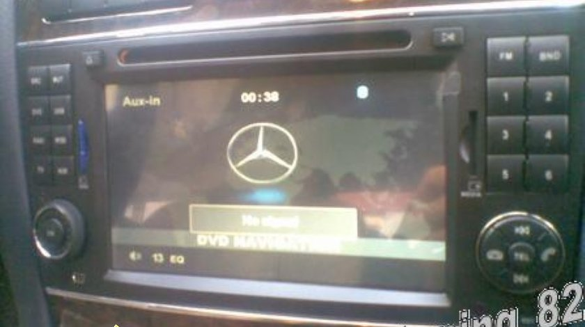 NAVIGATIE DYNAVIN MERCEDES CLK DVD GPS CAR KIT INTERNET 3G TV TUNER USB DIVX