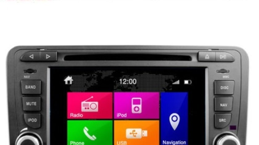 Navigatie Dynavin N6-A3 Dedicata Audi A3 S3 RS3 Camera Video Cadou!