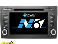 Navigatie Dynavin N6 A4 Dedicata Audi A4 Seat Exeo Carkit Parrot Dual Radio Tuner Model Premium