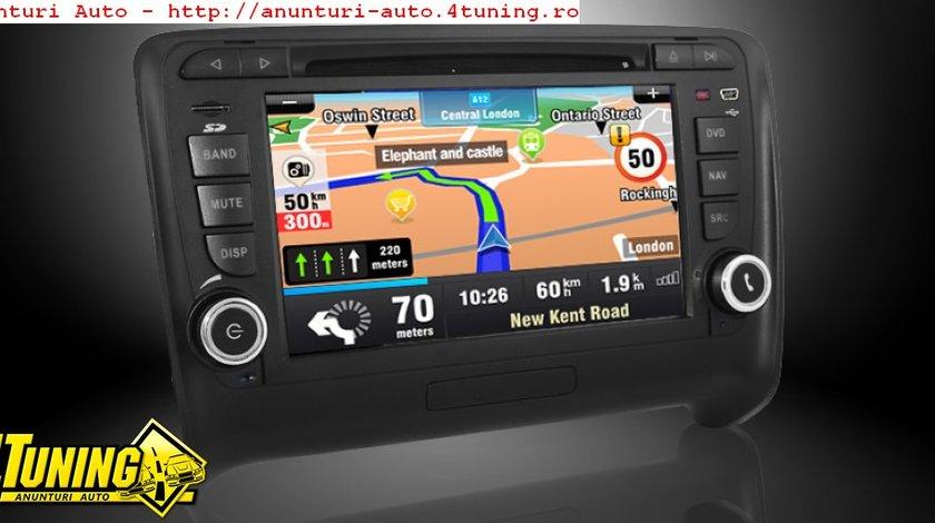 Navigatie Dynavin N6 Tt Dedicata Audi Tt Dual Radio Tuner Carkit Parrot Preluare Agenda Telefonica Afisaj Obc Model Premium Microfon Extern Carkit Si Camera Video Cadou