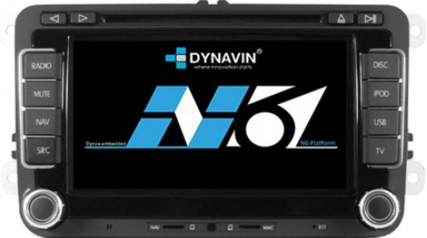 Navigatie Dynavin N6 VW Dedicata VW SKODA SEAT Carkit Parrot Dual Radio Tuner Model Premium