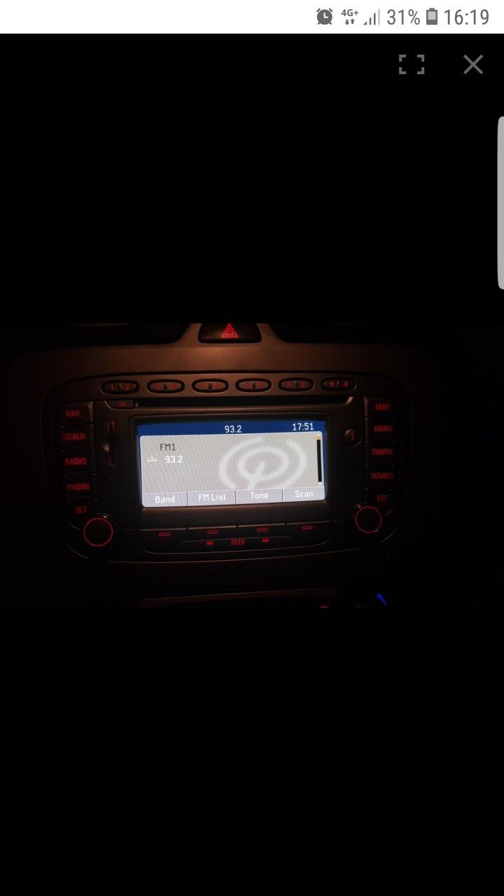 Navigatie ford focus 2 facelift mondeo kuga 1 blaupunkt fx