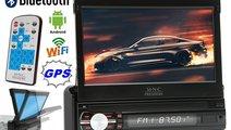 "Navigatie GPS 1DIN Ecran Retractabil 7"" Multimedia..."