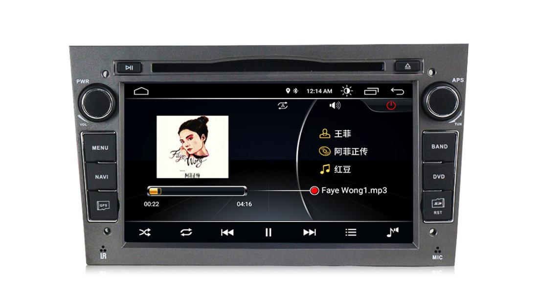 Navigatie Gps Android 8.1 Opel Astra H Vectra Corsa Antara Zafira Meriva Vivara , Internet , 4G , Aplicatii , Waze , Wi Fi , Usb , Bluetooth , Mirrorlink
