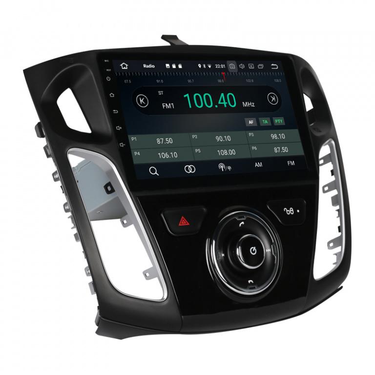 "Navigatie Gps Android 9.0 Ford Focus 2012 - 2018 , Display Touchscreen 10.1 "" , 2 GB RAM + 16 GB ROM , Internet , 4G , Aplicatii , Waze , Wi Fi , Usb , Bluetooth , Mirrorlink"
