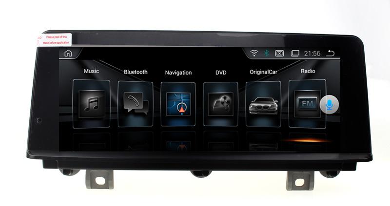 Navigatie Gps Android BMW Seria 1 Seria 2 F20 F21 F22 , Internet , 4G , Aplicatii , Waze , Wi Fi , Usb , Bluetooth , Mirrorlink , IPS