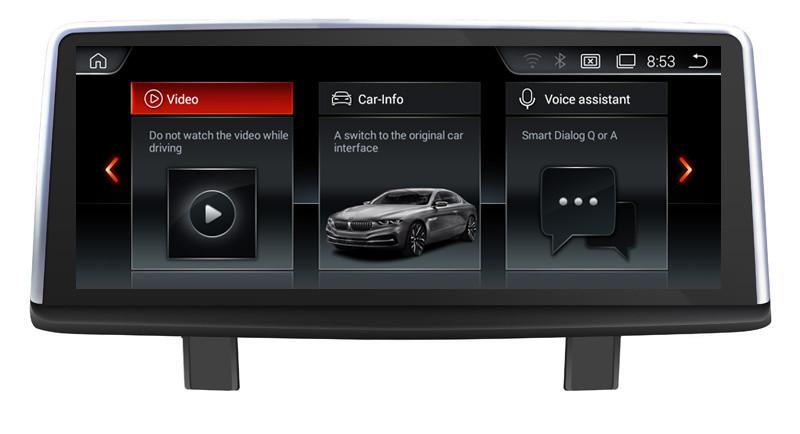 Navigatie Gps Android BMW Seria 3 F30 F31 (2013 - 2018) , 2GB RAM +32 GB ROM , Internet , 4G , Aplicatii , Waze , Wi Fi , Usb , Bluetooth , Mirrorlink , IPS