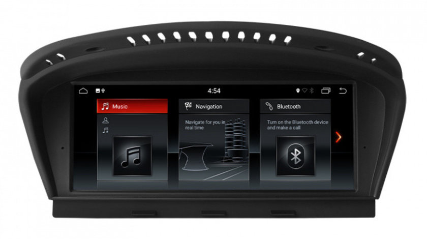 Navigatie Gps Android BMW Seria 5 E60 E61 ( 2004 - 2010 ) , Android 7.1 , 2GB RAM + 32 GB ROM , Internet , 4G , Youtube , Waze , Wi Fi , Usb , Bluetooth , Mirrorlink