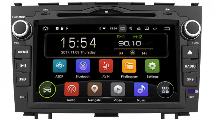 Navigatie Gps Android Honda Cr v ( 2006 - 2011 ) , 2GB RAM + 16GB ROM , Internet , 4G , Aplicatii , Waze , Wi Fi , Usb , Bluetooth , Mirrorlink