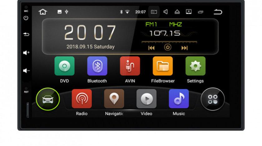 Navigatie Gps Android VW Golf 4 Passat B5 B5.5 Bora Polo Transporter T5 Sharan , Internet , 4G , Aplicatii , Waze , Wi Fi , Usb , Bluetooth , Mirrorlink