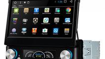 Navigatie Gps Auto Android 1DIN cu ecran retractab...