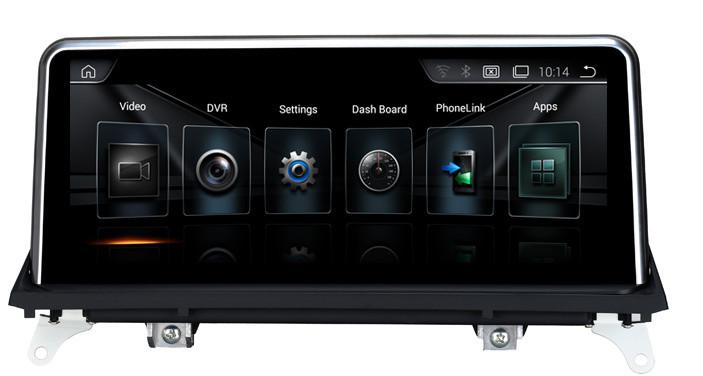 Navigatie Gps BMW X6 E71 , Android 7.1 , 2GB RAM + 32 GB ROM , Internet , 4G , Aplicatii , Waze , Wi Fi , Usb , Bluetooth , Mirrorlink