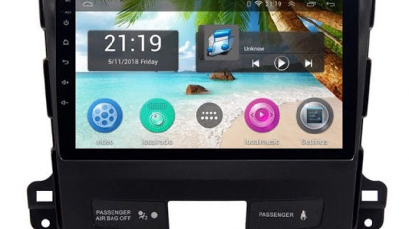 Navigatie Gps Cu Android OUTLAND, Peugeot 4007