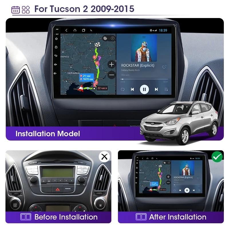 Navigatie / GPS / DVD Dedicata Hyundai ix 35