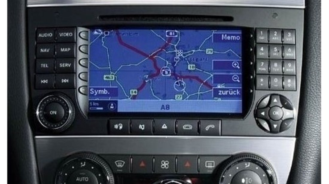 Navigatie Gps dvd mercedes c class clk command aps NTG1