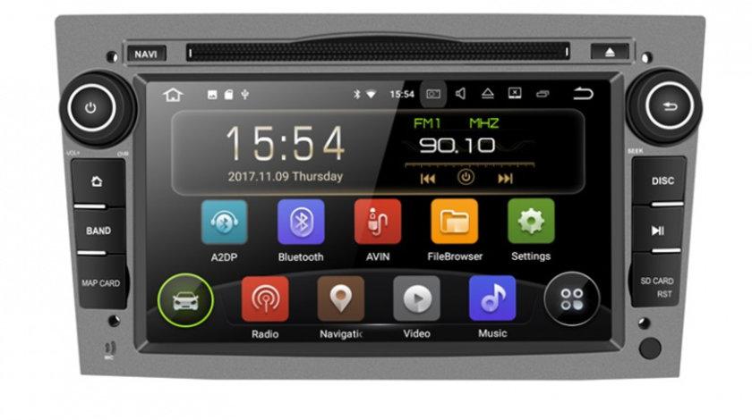 Navigatie Gps Opel Astra H Vectra Corsa Zafira Antara Meriva Vivara , Android 9.0 , 2GB RAM + 16GB ROM , Internet , 4G , Aplicatii , Waze , Wi Fi , Usb , Bluetooth , Mirrorlink