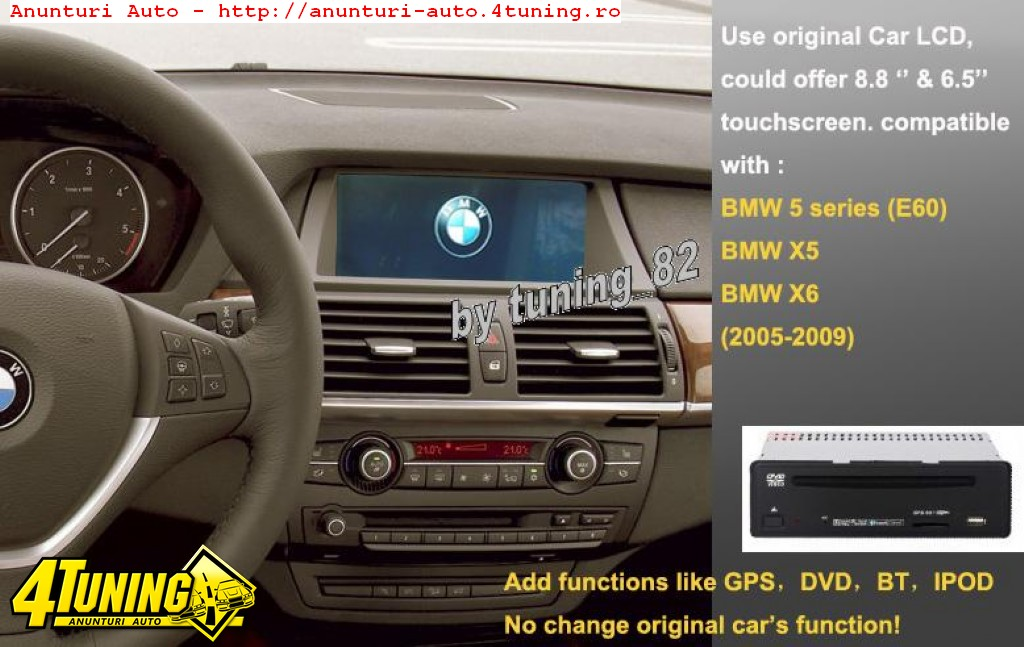navigatie interfata witson w2 d9741b dedicata bmw e60 e70. Black Bedroom Furniture Sets. Home Design Ideas