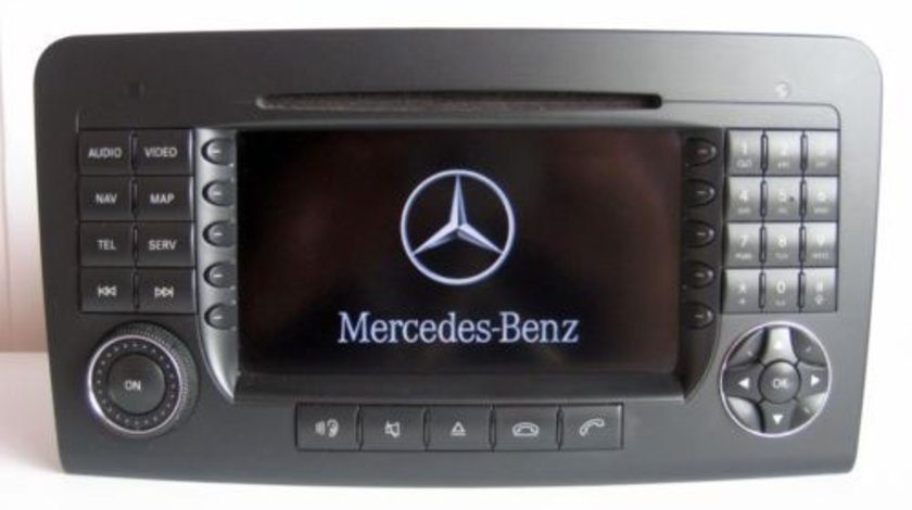 Navigatie Mare Originala Mercedes-Benz ML W164 GL X164 COMAND APS NTG2