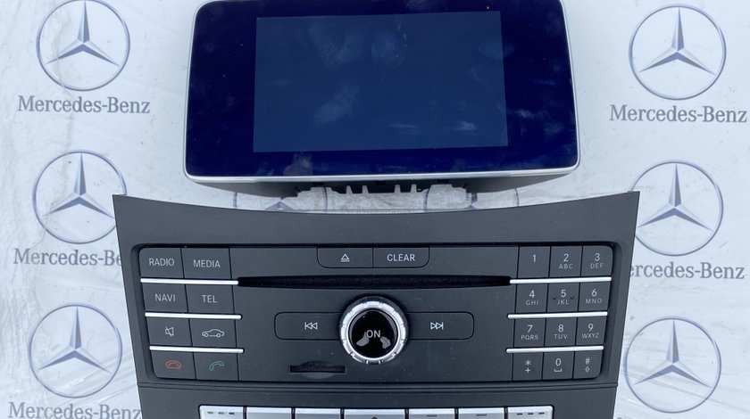 Navigatie mercedes CLS W218, facelift