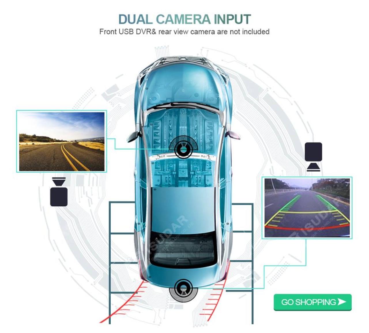 Navigatie Mercedes W203 Android 5.1 Waze Internet Navd-A5171