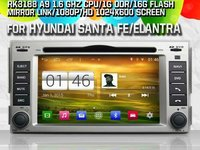 NAVIGATIE NAV W2-M008 DEDICATA HYUNDAI SANTA FE 4,4,4 S160 INTERNET 3G WIFI QUAD CORE