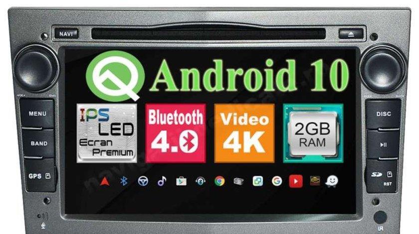 Navigatie Opel Astra H Vectra C Corsa Zafira Meriva Antara Signum Android 9.0 NAVD-MT019