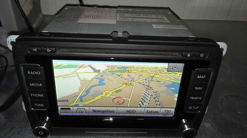 Navigatie Originala Volkswagen RNS 510 Originala LED 2011