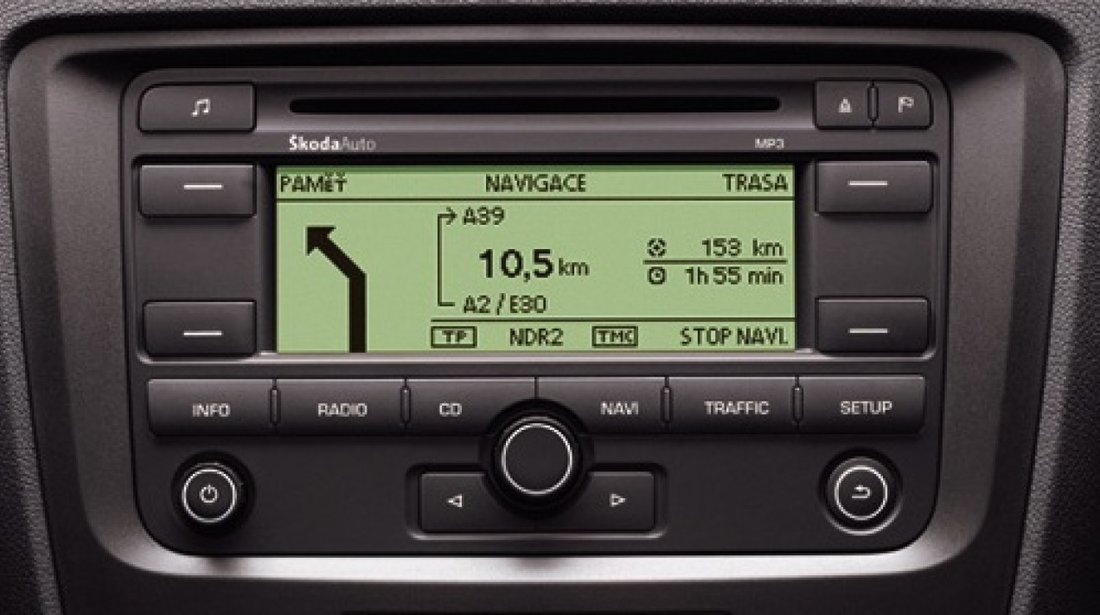 Navigatie  originala Volkswagen RNS300 Skoda Mp3