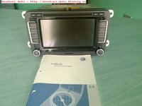 Navigatie Originala Vw Seat , Mfd3 Rns 510, Dvd-film,mp3 Hdd 30gb, Touchscreen
