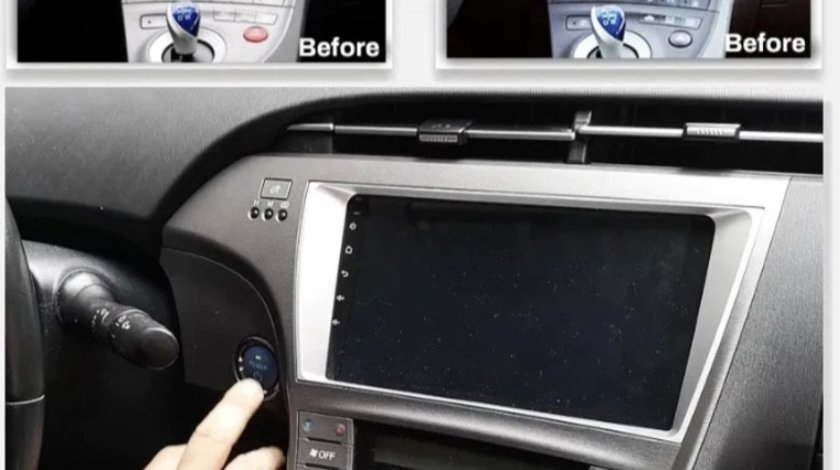 Navigatie Prius 3-9 inch Android 9.1, GPS. WiFi, 2USB; Bluetooth,Waze